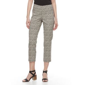 Women's Dana Buchman Chevron Ankle Pants